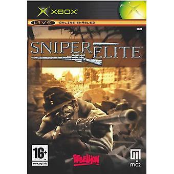 Sniper Elite (Xbox)-nieuw