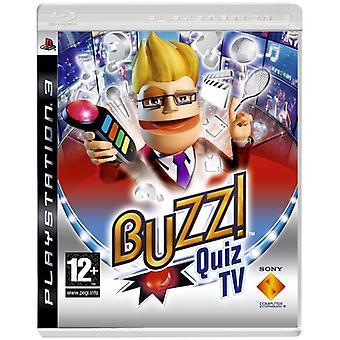 Buzz! Quiz-TV (PS3) (buzzere medfølger ikke)-ny