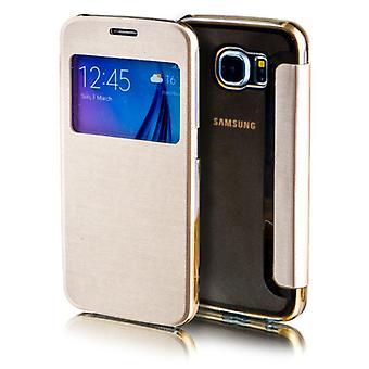 Dla Apple iPhone 7 4.7 smart cover okno złoto torba rękaw case etui ochrony nowych