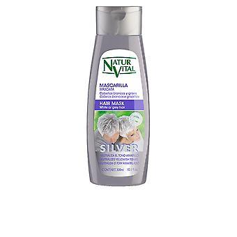 Naturaleza Y Vida Mask Silver valkoisia tai harmaita hiuksia 300 Ml naisten