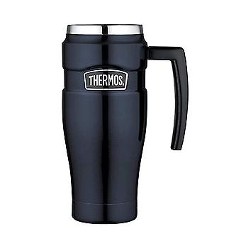 Caneca do curso thermos 470mL King S/Steel vácuo isolado