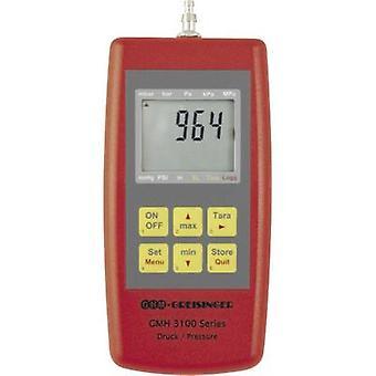 Pressão Greisinger GMH3181-12 medidor de pressão de ar, gás não corrosivo, gás corrosivo 0 - 1.3 bar