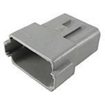 TE Connectivity DT04-12PA-C015-Bullet connector stekker, rechte serie (aansluitingen): DT totaal aantal pins: 12 1 PC('s)