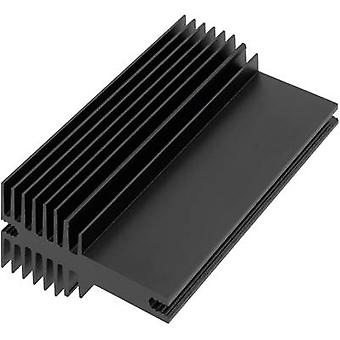 Aavid Thermalloy 0S520/100/N Heat sink (attachment) 2.5 K/W (L x W x H) 100 x 30 x 60 mm