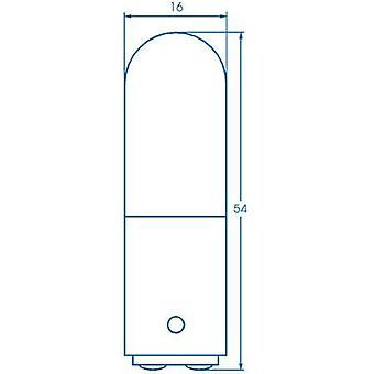 Barthelme 00122610 Mini ampul 220 V, 260 V 6 W, 10 W BA15d Clear 1 adet