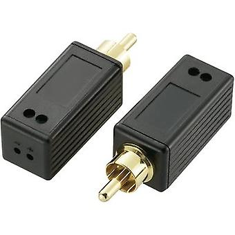 SpeaKa Professional Digital audio (coaxial) Extensión a través de 2 conductores 180 m