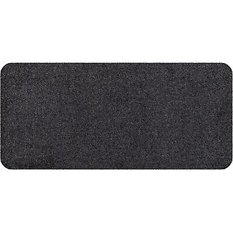Salon lion mini foot living mat anthracite without 30 x 60 cm plain edge