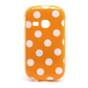Beschermhoes voor mobiele Samsung Galaxy jonge S6310 oranje