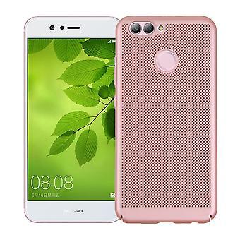 Mobile Shell voor Huawei Y3 2017 mouw zaak tas cover case roze