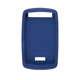 BlackBerry-גומי עור מקרה לרעם הסערה בלקברי-כחול כהה