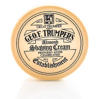 Pote de sabão geo F Trumper barbear suave amêndoa - 200g