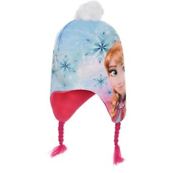 Girls HQ4042 Disney Frozen Peruvian Winter Hat
