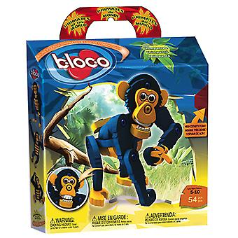 Bloco - Primates of the World Chimpanzee