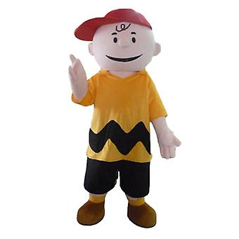 mascot SPOTSOUND Charlie Brown, famous character of Snoopy