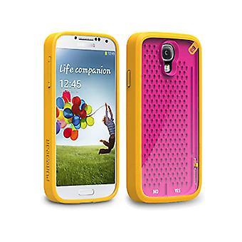 PureGear Gamer Case-A-MAZE-ING Undecided for Samsung Galaxy S4 (Orange/Pink)