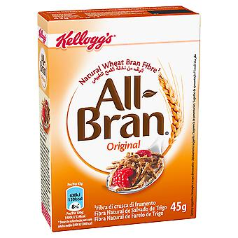 Kelloggs All Bran Cereal Portion Packs