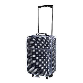 Slimbridge Barcelona Cabin Approved Bag, Navy Dots