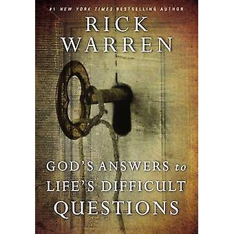 الله إجابات للأسئلة الصعبة للحياة من ريك وارين-97803103