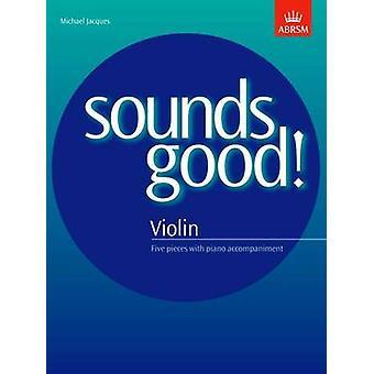 Ça a l'air bien! pour violon par Michael Jacques - livre 9781854727480