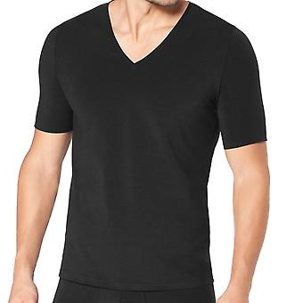 Sloggi ZERO Feel  V-Neck T-Shirt, Black, X-Large (46)