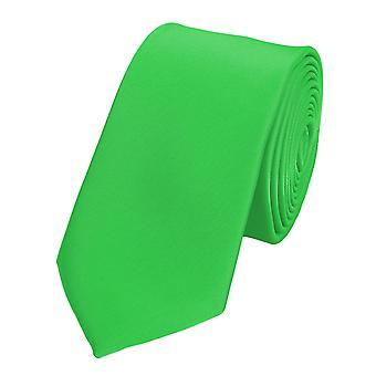 Slips slipsar binder smala 6CM ljusgrön UNI Fabio Farini