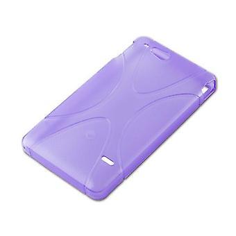 Cadorabo Sag til Sony Xperia GO sag dække - Fleksibel TPU Silikone telefon sag - Silikone sag beskyttende sag Ultra Slim Soft Back Cover Sag Bumper