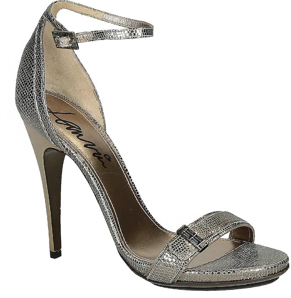 Lanvin high heel sandals in metallic Calf leather uM71V