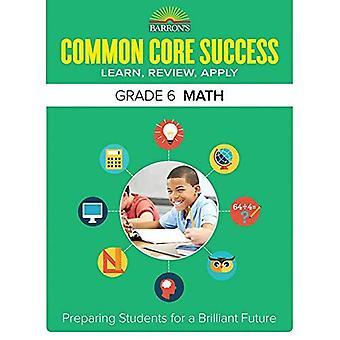 Barron's gemeenschappelijke kern succes rang 6 Math werkmap (Core succes werkmap)