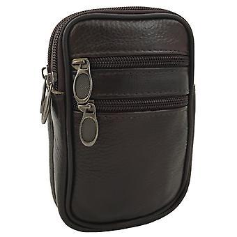 Toilin laukku, musta, nahka/nahka