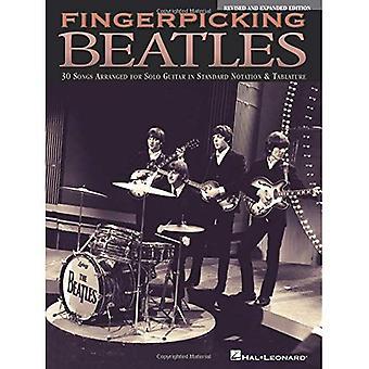 Fingerpicking Beatles: 30 canzoni organizzate per chitarra solista in notazione Standard & intavolatura
