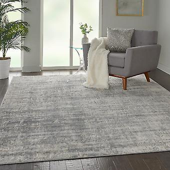 Rustic Textures RUS01 Ivory Silver  Rectangle Rugs Modern Rugs