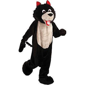 Wolf mascota costum
