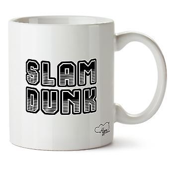Hippowarehouse Slam Dunk basketbal 10oz Cup mok