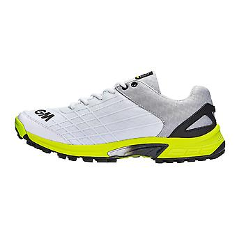 Gunn & Moore 2019 All Rounder Junior Kids Cricket Shoe White/Lime