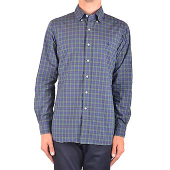 Ralph Lauren Ezbc037115 Men's Blue Cotton Shirt
