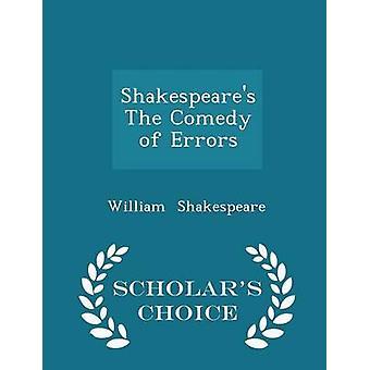 شكسبير كوميديا أخطاء العلماء الطبعة اختيار طريق شكسبير & ويليام