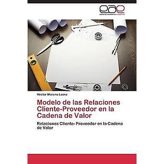 Modello di Las Relaciones ClienteProveedor En La Cadena de Valor da Moreno Loera Hctor