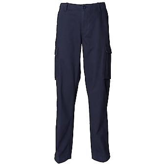 Front Row Mens Casual Cargo Trousers
