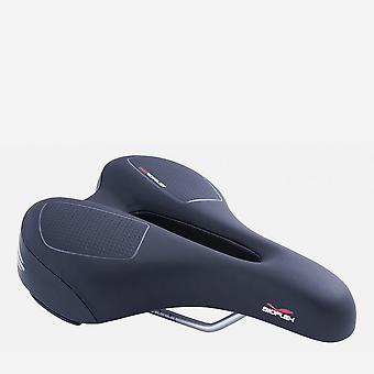 New Bioflex Women's On Gel Relaxed Riding Adventures Saddle Seat Black