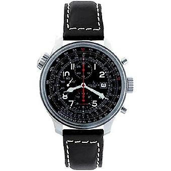 Zeno-watch mens watch OS slide rules slide rule chronograph date 8557CALTVD-a1