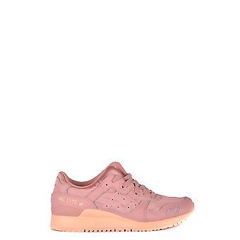 Asics Ezbc168003 Damen's Rosa Leder Sneakers