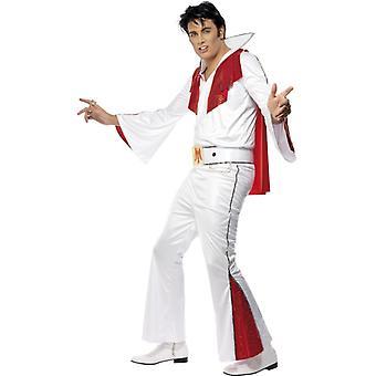 Elvis costume, white