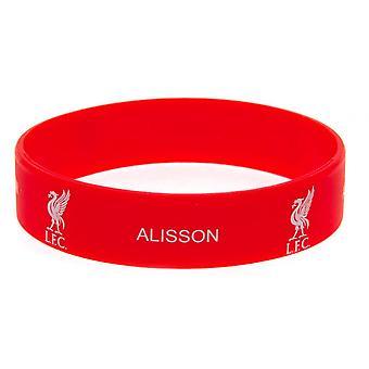 Liverpool FC Alisson Silicone Wristband