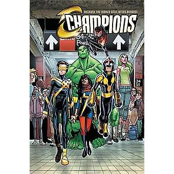Champions Vol. 1 - Change The World by Mark Waid - Humberto Ramos - 97