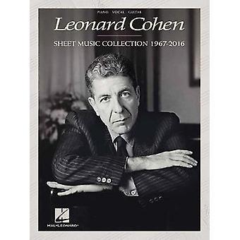 Leonard Cohen - Sheet Music Collection (1967-2016) - 9781495088995 Book