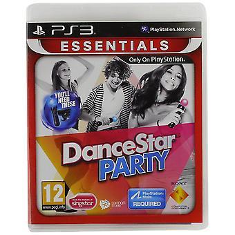 DanceStar Party Essentials PS3 spel