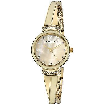 Anne Klein doré métallique Ladies Watch AK-2216IVGB
