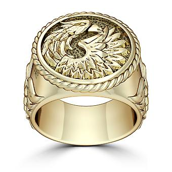 UFC Ring In 14K Yellow Gold Design by BIXLER