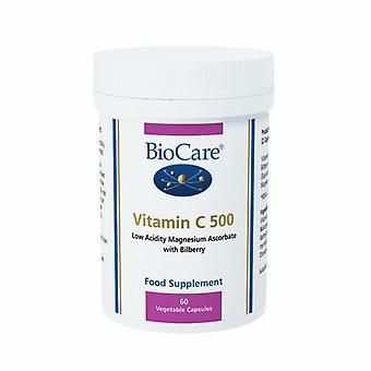العناية الحيوية فيتامين C 500mg Vegicaps 60 (17260)