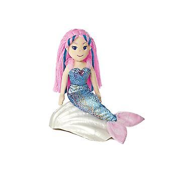 Mundo de Aurora mar 18 polegadas brilhos sereia Nixie